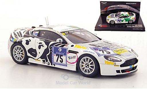 Aston Martin V8 Vantage 1/43 Minichamps No.75 Team Werner 24h Nürburgring 2011 miniature