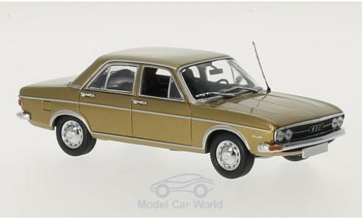 Audi 100 1/43 Minichamps gold 1969 miniature