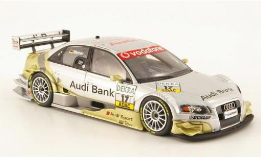 Audi A4 1/43 Minichamps DTM No.17 Team Phoenix DTM 2007 M.Werner diecast model cars