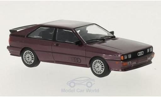 Audi Quattro 1/43 Minichamps quattro métallisé lila 1980 miniature