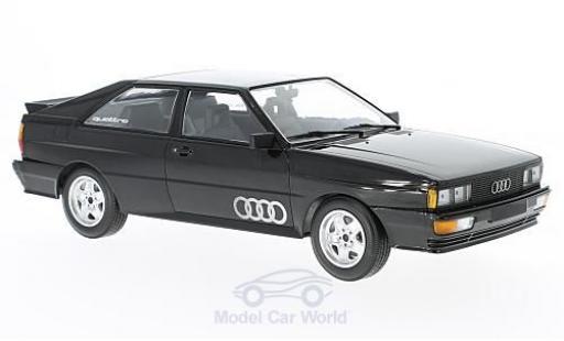 Audi Quattro 1/18 Minichamps quattro metallise black 1980 diecast model cars