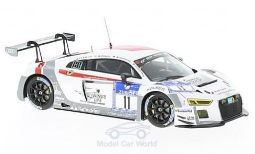 Audi R8 1/43 Minichamps LMS No.11 Race Experience 24h Nürburgring 2016 C.Bollrath/M.Ohlsson/M.Hackländer/R.Oeverhaus diecast