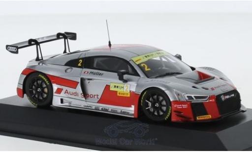 Audi R8 1/43 Minichamps LMS No.2 Sport Team WRT Fia GT World Cup GT Cup Macau 2017 N.Müller miniatura