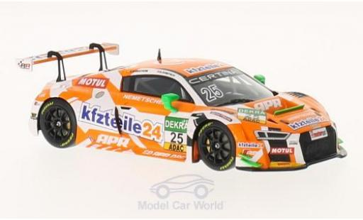 Audi R8 1/43 Minichamps LMS No.25 APR Motorsport KFZTeile 24 / APR Motorsport ADAC GT Masters 2016 D.Dobitch/E.Sandström diecast model cars