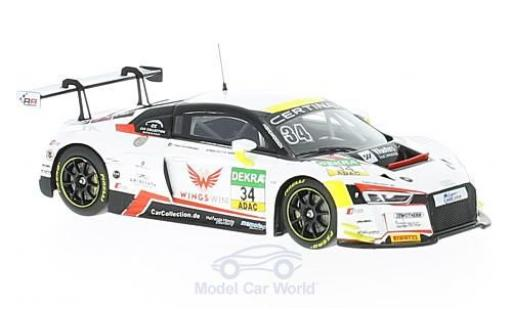 Audi R8 1/43 Minichamps LMS No.34 Car Collektion Motorsport ADAC GT Masters 2016 J.M.Lopez/K.van der Linde diecast model cars