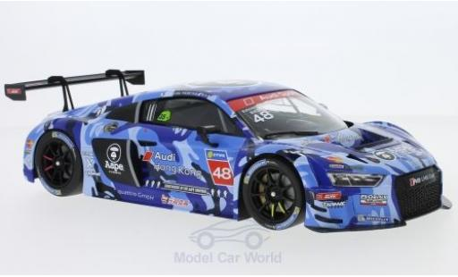 Audi R8 1/18 Minichamps LMS No.48 AAPE / Phoenix Racing Asia LMS Cup Sepang 2016 E.Mortara modellino in miniatura