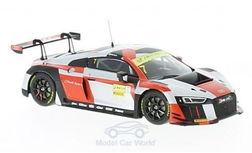 Audi R8 1/43 Minichamps LMS No.7 Sport Team WRT Fia GT World Cup Macau 2016 E.Mortara miniature