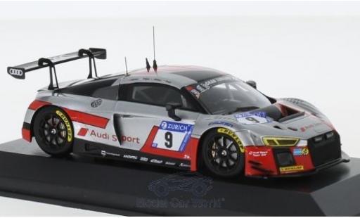 Audi R8 1/43 Minichamps LMS No.9 Sport Team WRT 24h Nürburgring 2017 N.Müller/M.Fässler/R.Frijns/R.Rast diecast model cars