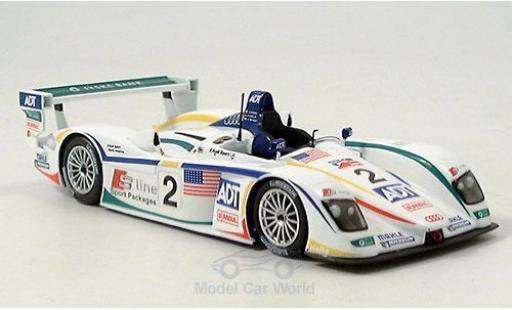 Audi R8 1/43 Minichamps No.2 24h Le Mans 2005 A.McNish/F.Biela/E.Pirro diecast