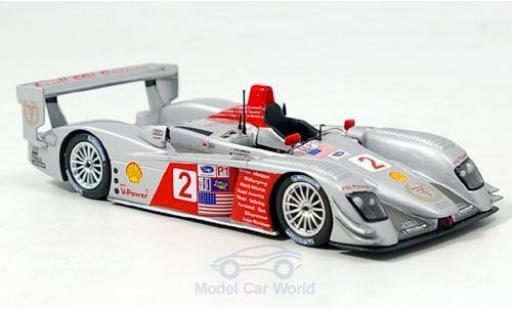 Audi R8 1/43 Minichamps No.2 FSI Power GP Neu-England 2006 A.McNish/D.Capello diecast