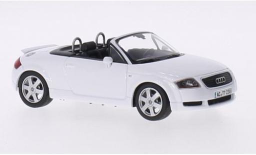 Audi TT 1/43 Minichamps Roadster bianco 1999 modellino in miniatura