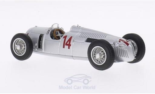 Auto Union Typ C 1/43 Minichamps No.14 GP Ungarn 1936 A.Varzi miniature