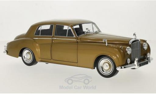 Bentley Continental S2 1/18 Minichamps S2 gold RHD 1960 miniature