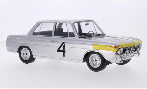 Bmw 1800 1/18 Minichamps TISA No.4 24h Spa 1965 J.Ickx/G.van Ophem diecast model cars