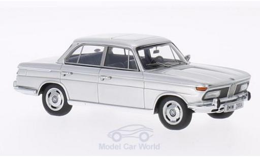 Bmw 2000 1/43 Minichamps A grise 1962 miniature