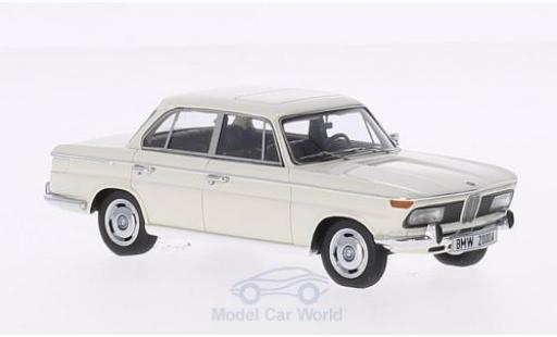Bmw 2000 1/43 Minichamps A white 1962 diecast model cars