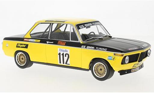 Bmw 2002 1/18 Minichamps No.112 GS Tuning Vergölst DRM Diepholz 1972 D.Basche diecast model cars