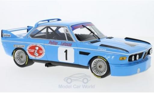 Bmw 3.0 S 1/18 Minichamps CL No.1 Pricision Liegeose 4h Monza 1974 A.Peltier/J-L.Lafosse miniature