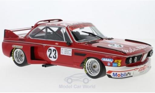 Bmw 3.0 S 1/18 Minichamps CL No.23 Faltz Alpina Zandvoort Trophy 1975 T.Betzler/H.de Fierlant/H.Grohs modellino in miniatura