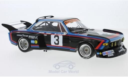 Bmw 3.5 1/18 Minichamps CSL No.3 Alpina - Faltz 6h Silverstone 1976 H.de Fierlant/H.Grohs modellino in miniatura