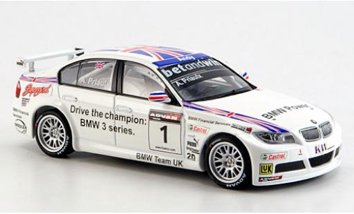 Bmw 320 1/43 Minichamps Si No.1 WTCC 2006 A.Priaulx diecast model cars