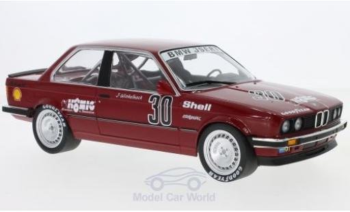 Bmw 325 E30 1/18 Minichamps i  No.30 Isert DTM Nürburgring 1986 J.Winkelhock modellino in miniatura
