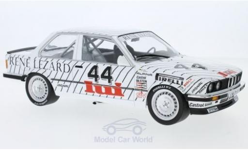Bmw 325 E30 1/18 Minichamps i  No.44 Linder ETCC Zolder 1986 W.Vogt/M.Oestreich modellino in miniatura