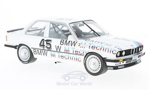 Bmw 325 1/18 Minichamps i No.45 Linder Rennsport ETCC 1986 C.Danner/O.Rensing modellino in miniatura