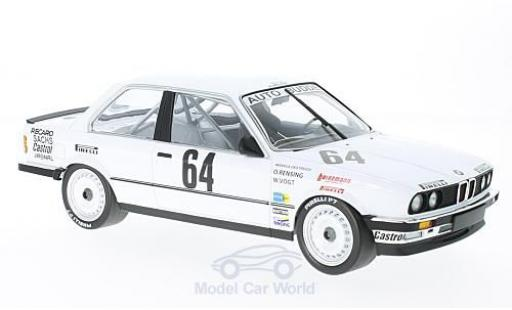 Bmw 325 1/18 Minichamps i No.64 Auto Budde Team 24h Nürburgring 1986 M.Oestreich/O.Rensing/W.Vogt miniature