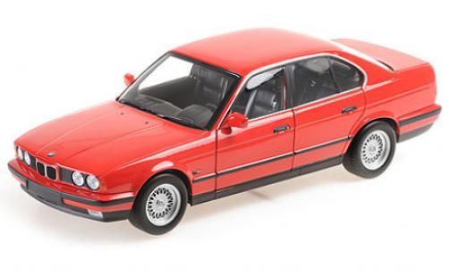 Bmw 535 1/18 Minichamps i (E34) red 1988 diecast model cars