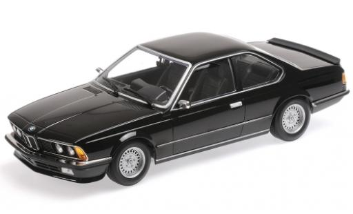 Bmw 635 CSI 1/18 Minichamps 635 CSi metallise black 1982 diecast model cars