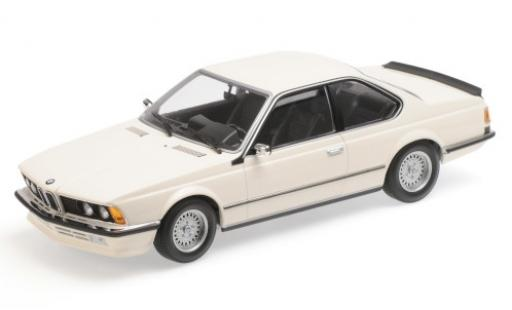 Bmw 635 CSI 1/18 Minichamps white 1982 diecast model cars