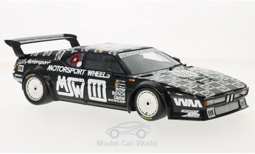 Bmw M1 1986 1/18 Minichamps No.111 MK Motorsport MSW 24h Le Mans P.Witmeur/M.Krankenberg/J-P.Libert miniature