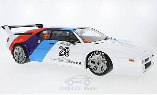 Bmw M1 1979 1/12 Minichamps BMW Procar No.28 BMW Motorsport Procar 1979 C.Regazzoni miniature