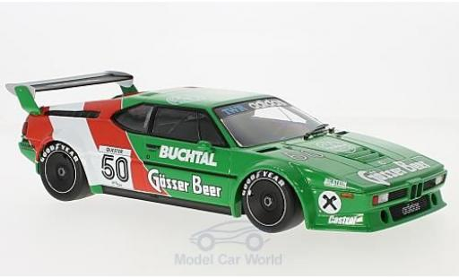 Bmw M1 1979 1/18 Minichamps BMW Procar No.50 Tom Walkinshaw Racing Gösser Bier Procar 1979 D.Quester miniature