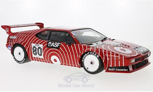 Bmw M1 1980 1/12 Minichamps BMW Procar No.80 GS Tuning BASF Procar 1980 H-J.Stuck miniature