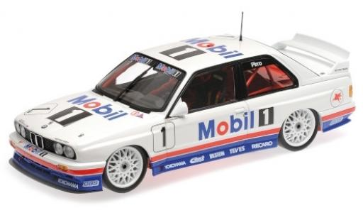 Bmw M3 1/18 Minichamps (E30) No.1 M-Team Schnitzer Mobil 1 Macau Guia Race 1992 E.Pirro diecast model cars