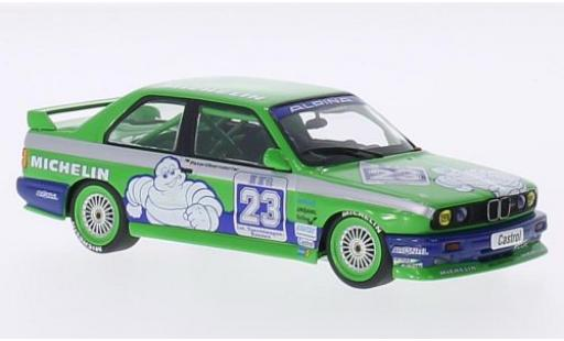 Bmw M3 1/43 Minichamps (E30) No.23 Alpina Michelin DTM 1988 P.Oberndorfer miniature
