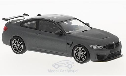 Bmw M4 1/43 Minichamps (F82) GTS matt-grey 2016 mit greyen Felgen diecast model cars