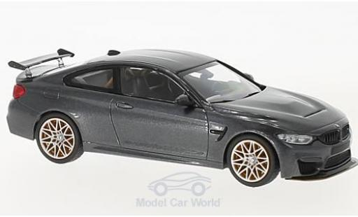 Bmw M4 1/43 Minichamps BMW (F82) GTS metallic-grise 2016 mit orangenen Felgen miniature