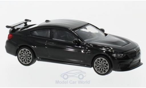 Bmw M4 1/87 Minichamps GTS metallise noire 2016 mit griseen Felgen miniature