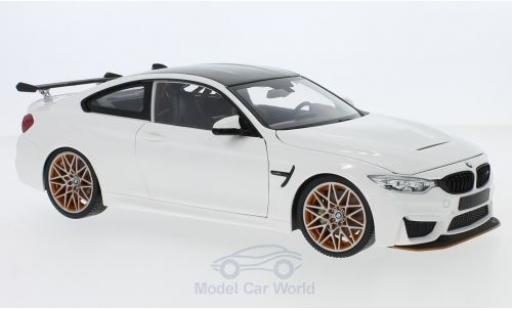 Bmw M4 1/18 Minichamps BMW GTS white 2016 diecast