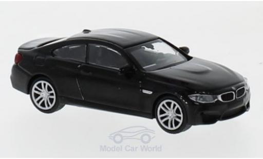 Bmw M4 1/87 Minichamps metallise black 2015 diecast model cars