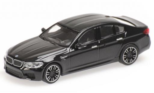 Bmw M5 1/87 Minichamps (F90) metallise negro/carbon 2018 coche miniatura