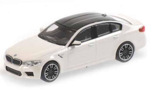 Bmw M5 1/87 Minichamps (F90) white/carbon 2018 diecast model cars