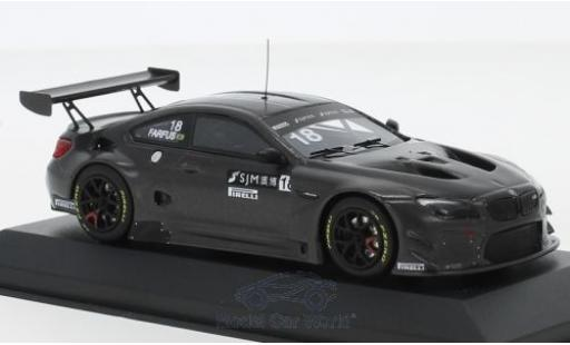 Bmw M6 1/43 Minichamps GT3 No.18 Team Schnitzer Macau GT Cup 2017 A.Farfus diecast model cars