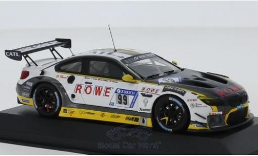 Bmw M6 1/43 Minichamps GT3 No.18 ROWE Racing 24h Nürburgring 2018 A.Sims/Krohn/C.de Phillippi/M.Tomczyk miniature