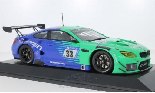 Bmw M6 1/18 Minichamps GT3 No.33 Falken Motorsports Falken 24h Nürburgring 2018 P.Dumbreck/S.Dusseldorp/A.Imperatori/J.Klingmann diecast model cars