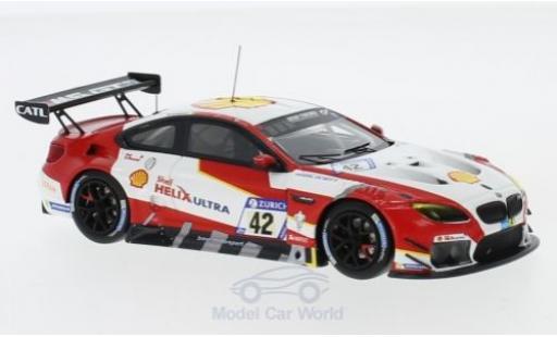 Bmw M6 1/43 Minichamps GT3 No.42 Team Schnitzer S 24h Nürburgring 2017 M.Wittmann/T.Blomqvist/M.Tomczyk/A.Farfus diecast model cars
