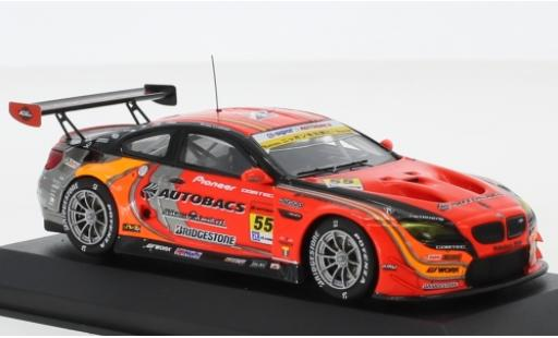 Bmw M6 1/43 Minichamps GT3 No.55 Team Arta Autobacs Super GT Fuji 2017 S.Takagi/S.Walkinshaw diecast model cars